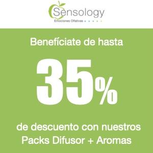 Marketing Olfativo Pack Difusor + Aromas